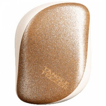 Расчёска Tangle Teezer Compact  Glitter gold