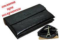 Мужская кожаная сумка барсетка кошелек портмоне клатч Shaishi шкіра, фото 1