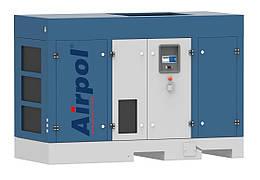 Компрессор винтовой Airpol PRT 30  (0,75 МПа, 5,33 м.куб/мин) с осушителем и преобразователем частоты