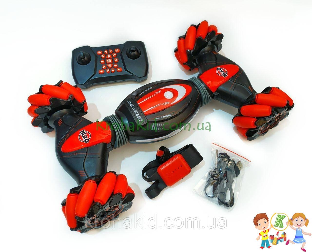 Трюковая машина Hero ОРИГИНАЛ трансформер бигфут на радиоуправлении 39см (УПРАВЛЕНИЕ ЖЕСТАМИ РУКИ) RQ20