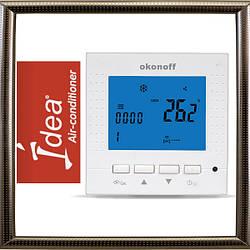 Настенный проводной пульт-термостат IDEA Okonoff S400L