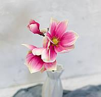 Ветка магнолии премиум тм.розовая, фото 1