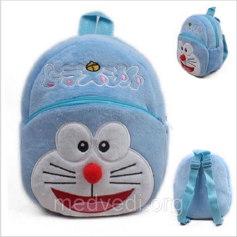 Детский плюшевый рюкзак кот Огги