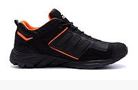Мужские кожаные кроссовки Adidas Terrex Orange, фото 1