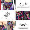 Спортивный костюм женский для фитнеса, йоги. Комплект лосины, топ, повязка, размер M - Фото