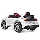 Детский электромобиль Ford Mustang M 3632EBLR-1 белый, фото 3