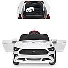 Детский электромобиль Ford Mustang M 3632EBLR-1 белый, фото 4