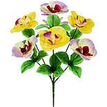Букет орхідея мікс 7-ка, 34см (40 шт. в уп), фото 2