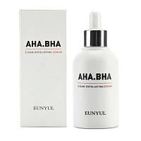 Сыворотка для лица Eunyul Aha.Bha Clean Exfoliating Serum 50 мл. С кислотам, обновление кожи.