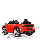 Детский электромобиль Ford Mustang M 3632EBLR-3 красный, фото 4