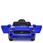 Детский электромобиль Ford Mustang M 3632EBLR-4 синий, фото 6