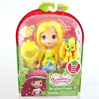 Кукла ШАРЛОТТА ЗЕМЛЯНИЧКА серии  Домашние любимцы  ЛИМОНА  15 см, с ароматом
