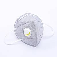 Защитная маска для лица с обратным клапаном