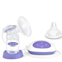 Электрический молокоотсос  накладка Comfort Fit™, 2-хфаз.,6 ур.вакуума,1 бут.160мл,запчасти,соска Natural Wave