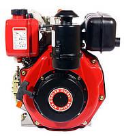 Двигатель дизельный WEIMA WM178F (6.0л.с., шлицы Ø25мм, L=33мм, ручной старт) + доставка