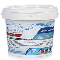 Для понижения уровня pH воды Crystal Pool pH Minus 5 кг