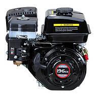 Двигатель бензиновый Loncin G170F   (7 л.с., ручной стартер, шпонка Ø19мм, L=58мм) + доставка