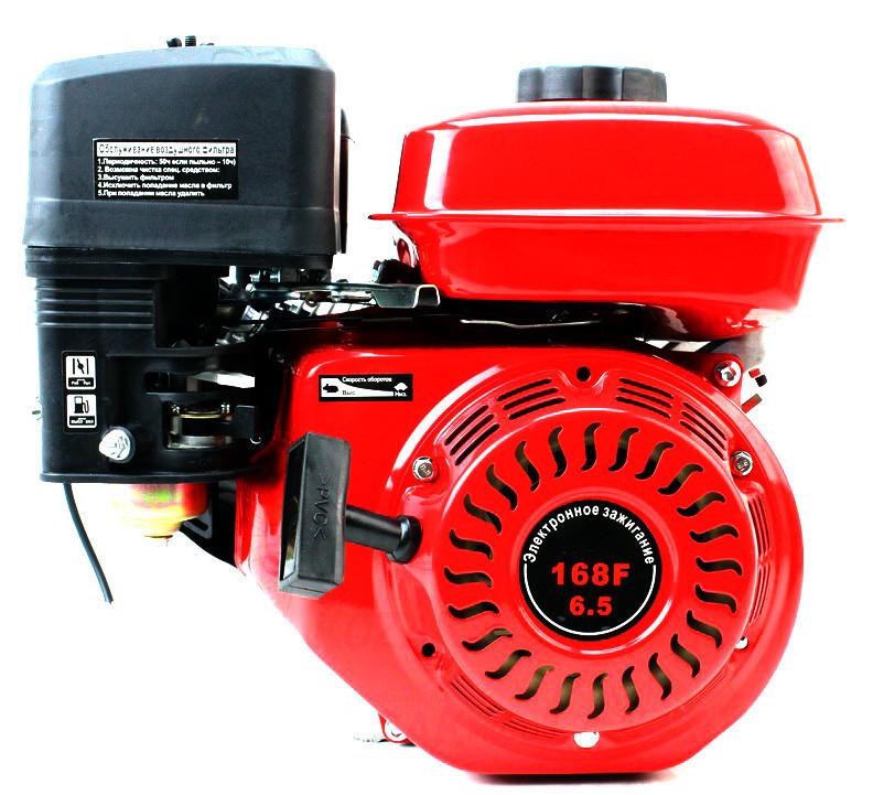 Двигатель бензиновый ТАТА YX170F (7 л.с., шлицы Ø25мм, L=36,5мм) + доставка
