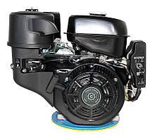 Двигатель бензиновый Grünwelt GW460FЕ-S  (18 л.с., шпонка Ø25 мм, электростартер) Бесплатная доставка
