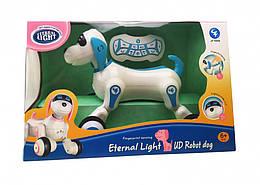 Детская игрушка Робот собачка на радиоуправлении 27 см JT Toys, синий