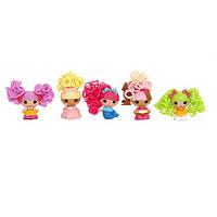 Набор с куклами КРОШКАМИ  LALALOOPSY  серии  Кудряшки-симпатяшки  СКАЗОЧНЫЕ ПОДРУЖКИ  5 кукол