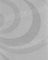 Рулонные шторы жалюзи на окна Фестиваль 704 серый открытая система, 400*1650 мм
