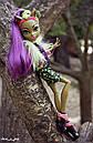 Кукла Monster High Кловенус Clawvenus из серии Freaky Fusion Монстр Хай, фото 8