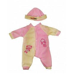 Комбинезон кукольный для пупсов Беби Борн Metr+, розовый