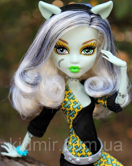 Кукла Monster High Фрэнки Штейн (Frankie Stein)  Слияние монстров Монстер Хай Школа монстров