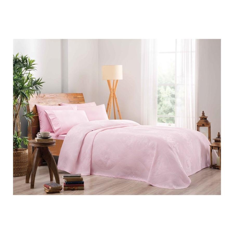 Постільна білизна Tac Jakar Pike - Rosabella pembe рожевий євро