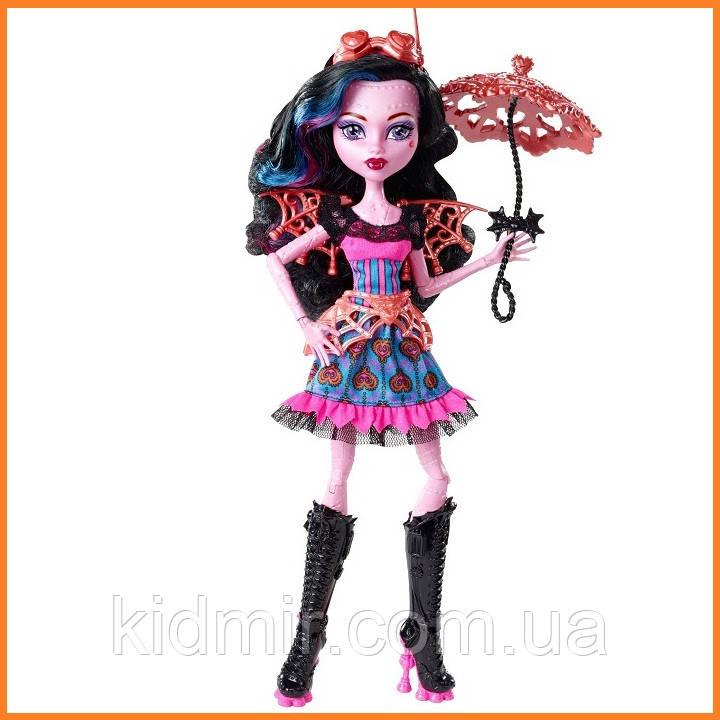Лялька Monster High Дракубекка (Dracubecca) з серії Freaky Fusion Монстр Хай