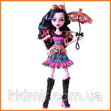 Кукла Monster High Дракубекка (Dracubecca) из серии Freaky Fusion Монстр Хай