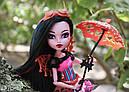 Лялька Monster High Дракубекка (Dracubecca) з серії Freaky Fusion Монстр Хай, фото 7
