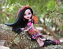 Лялька Monster High Дракубекка (Dracubecca) з серії Freaky Fusion Монстр Хай, фото 8