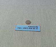 Магнит неодимовый, диск 8мм/2мм (0.9кг)