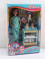 "Кукла JX 200-36 (24/2) ""Детский врач"" в коробке"
