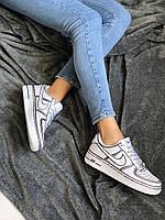 Женские Кроссовки Nike Air Force 1 Low White Белые Найк