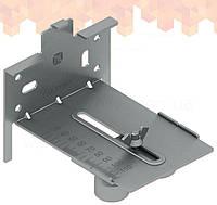 MB DB1 шаблон встановлення сталевого радіатора з нижнім підключенням 1/2