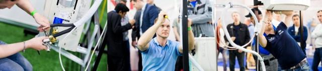 AIR BATTLE 2020 3-й Чемпионат Украины по монтажу и обслуживанию систем кондиционирования