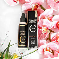 Корейский тональный крем Privia U Collagen Premium Foundation 4 in 1 100мл
