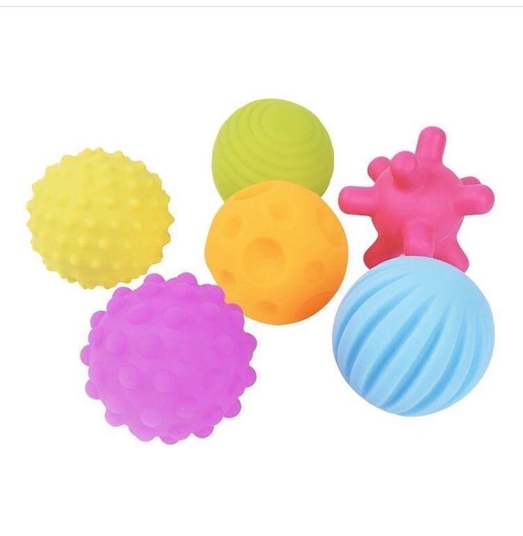 Сенсорные Развивающие тактильные мячики