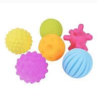 Сенсорные Развивающие тактильные мячики, фото 1