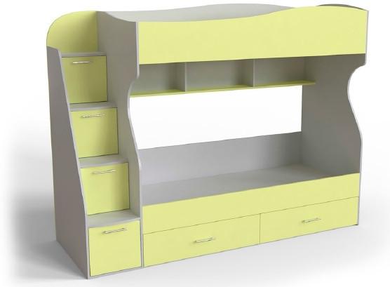 Двоповерхове ліжко Art-In-Head AЛ-14 Домін шамоні