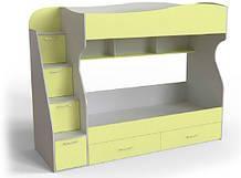 Двоповерхове ліжко Art-In-Head AЛ-14 Домін Шамоні 1732х732х950