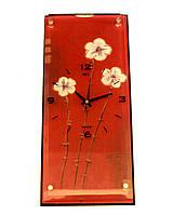 """Настенные часы """"Цветы""""."""