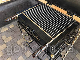 Решетка для гриля из нержавейки 350х400 мм