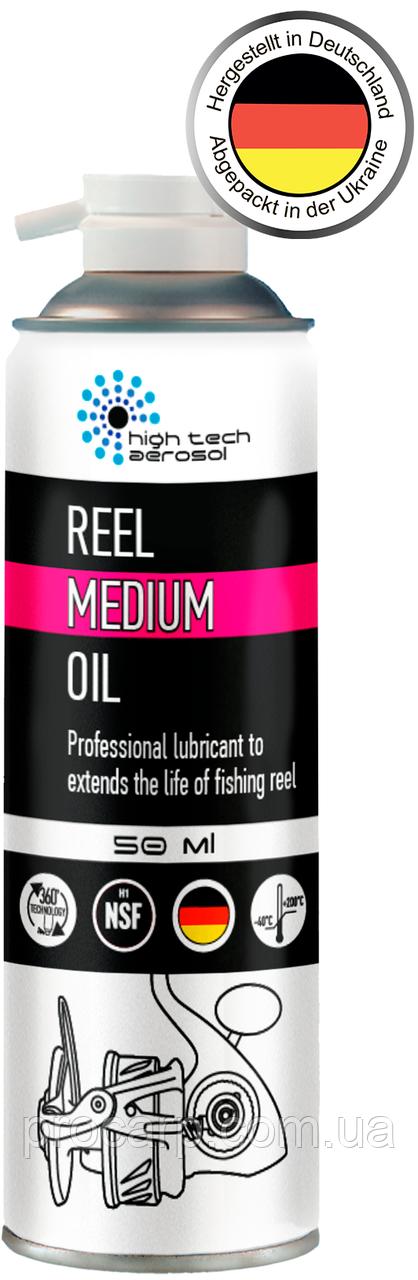 Синтетическое масло для рыболовных катушек «HTA REEL MEDIUM OIL» 50 мл.