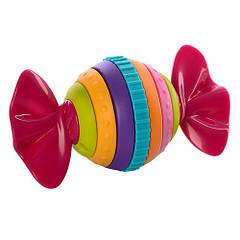 Погремушка Hola 939-1 Конфета-трещотка Разнацветный