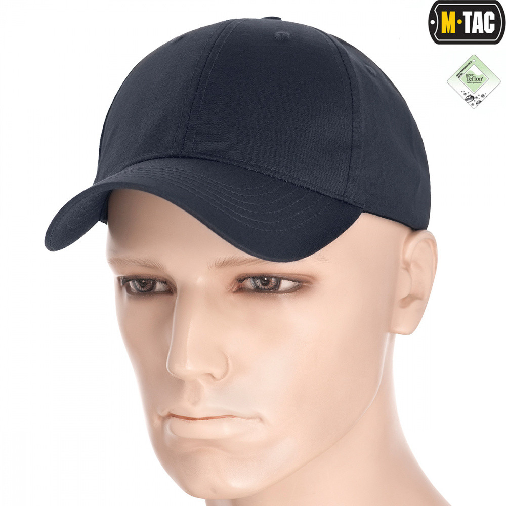 M-Tac бейсболка Flex рип-стоп Dark Grey