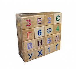 Азбука деревянная Винни Пухм цветная (11201)